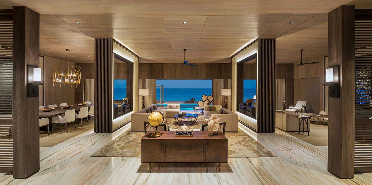 Living room, John Jacob Astor Estate | St Regis Maldives Vommuli Resort