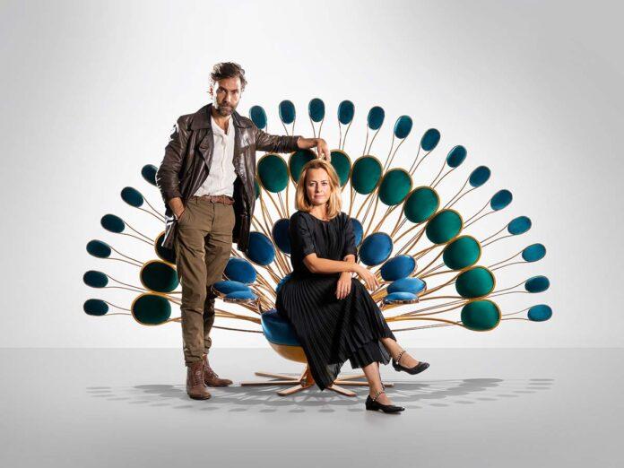 Marc Ange ed Eleonore Cavalli presentano la capsule collection Il Pavone