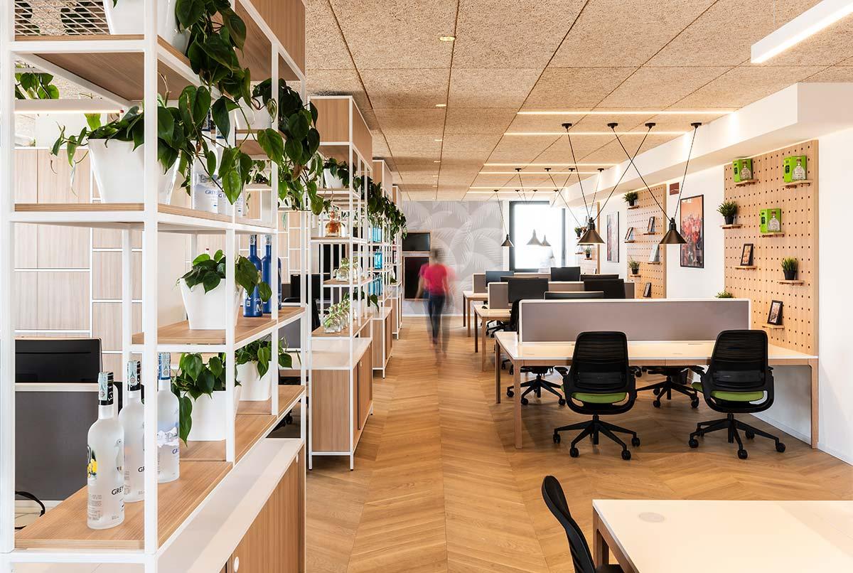 Home area, Bacardi office - Design by Il Prisma