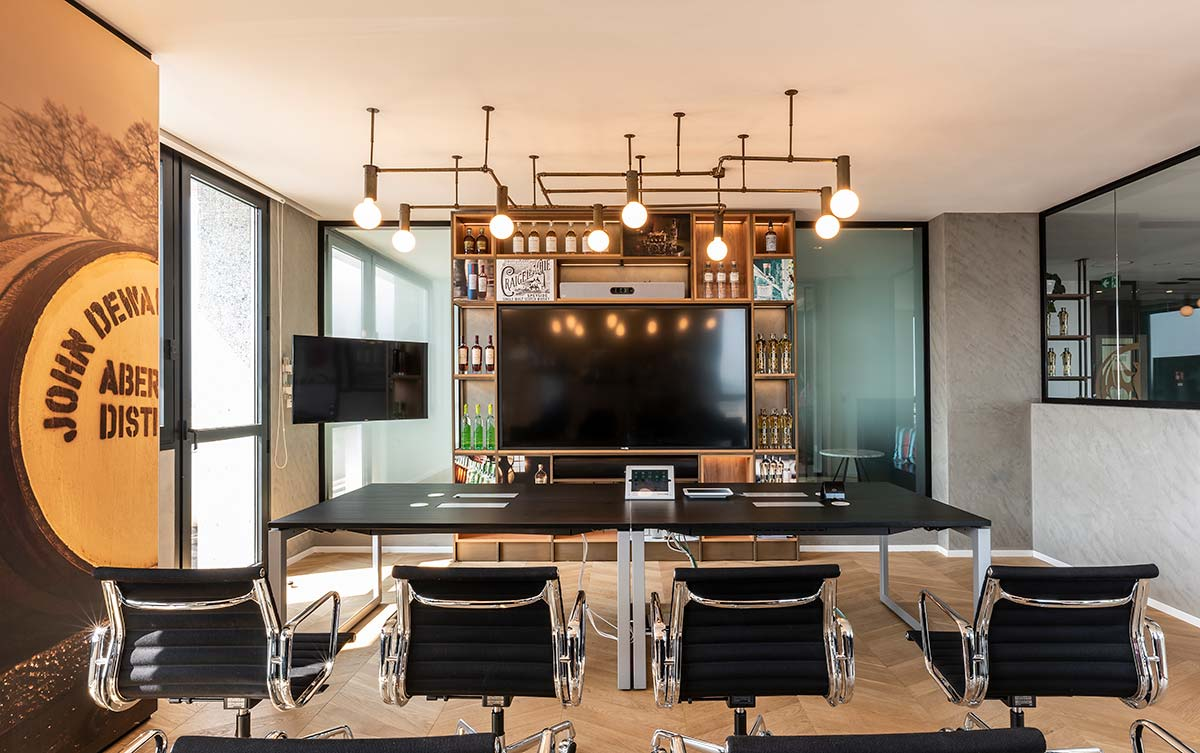 Distillery area, Bacardi office - Design by Il Prisma