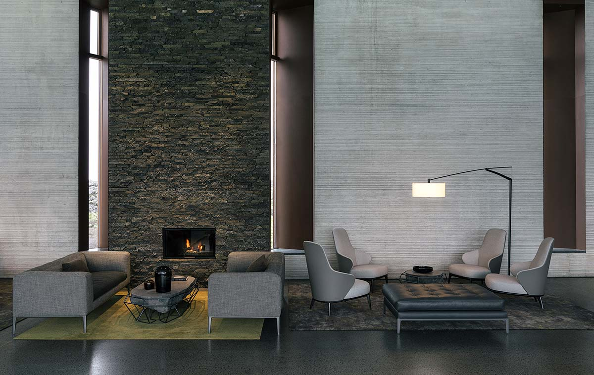 Lounge - The Retreat, Blue Lagoon, Iceland