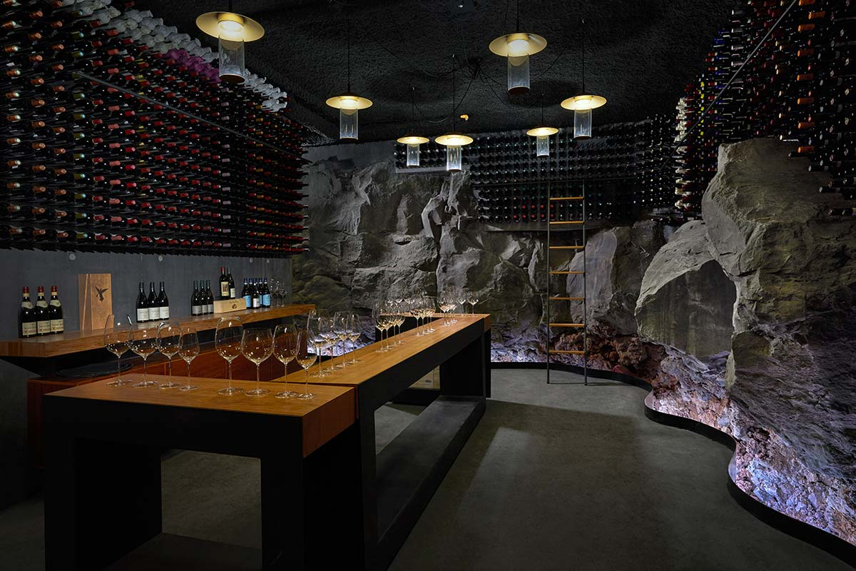 Wine cellar - The Retreat, Blue Lagoon, Island