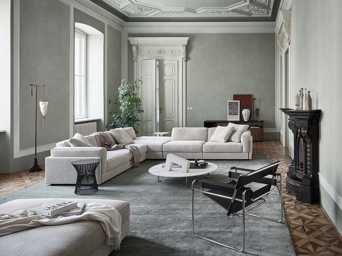 Gould Sofa by Piero Lissoni