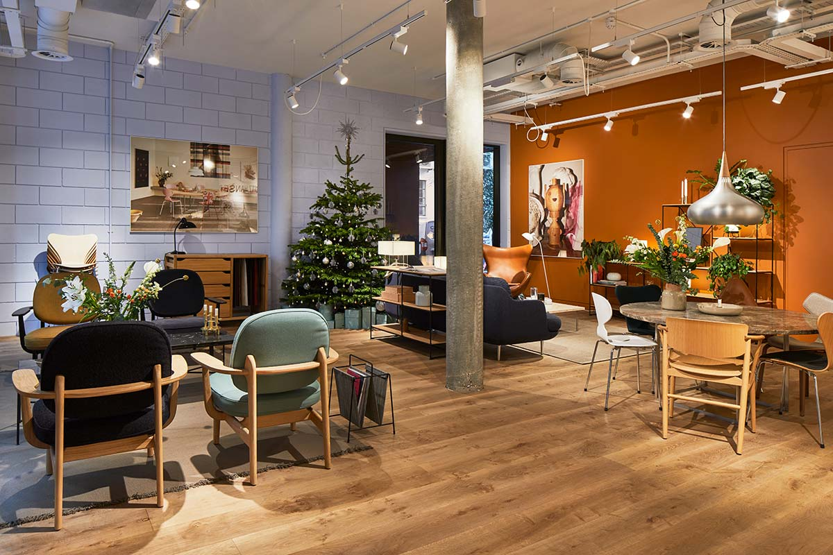 Fritz Hansen showroom in London Clerkenwell
