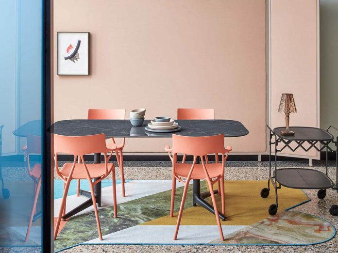 Sedia A.I. design by Philippe Starck, Kartell
