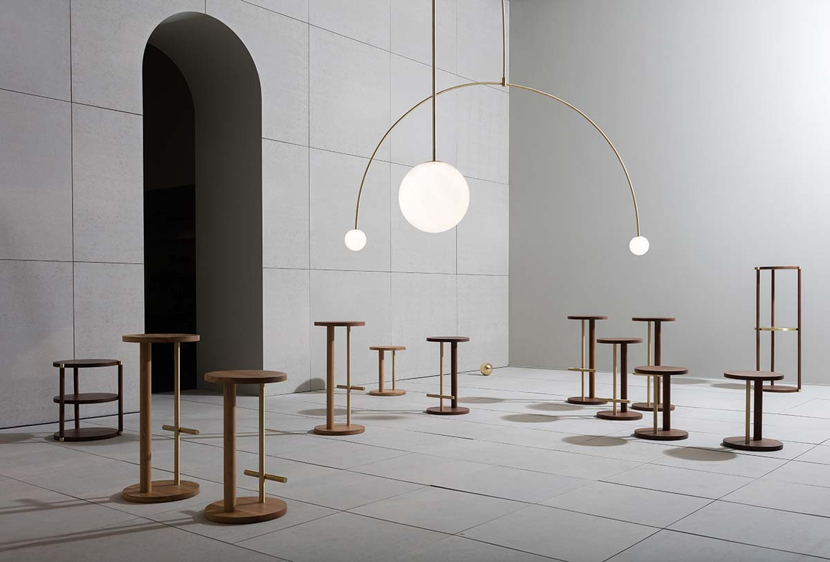 Michael Anastassiades - Herman Miller - Double Dream of Spring Exhibition - Photo © Ben Anders