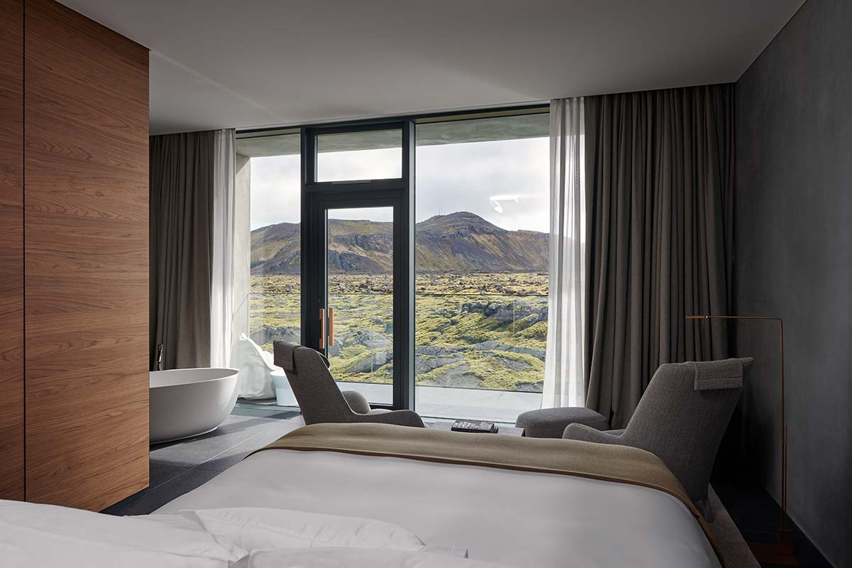 Moss junior suite - The Retreat, Blue Lagoon, Iceland
