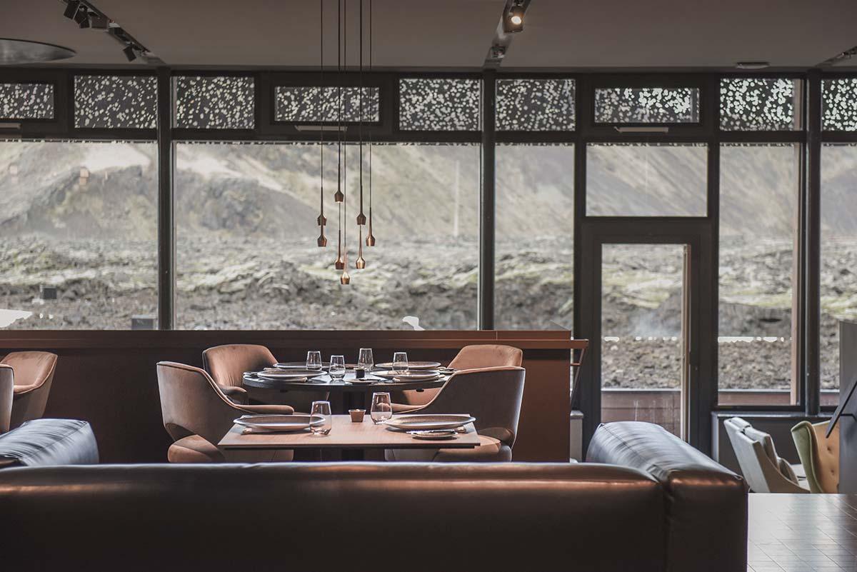 Moss restaurant - The Retreat, Blue Lagoon, Iceland