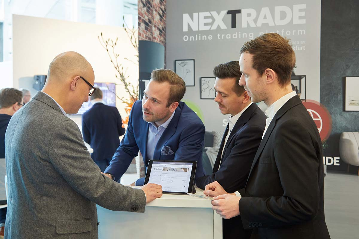 Nicolaus Gedat, CEO di nmedia, e Philipp Ferger,  Tendence and Nordstil Group Show Director
