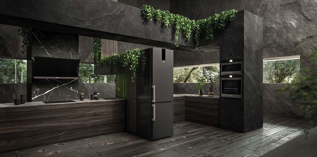 La nuova cooking suite Black Fiber