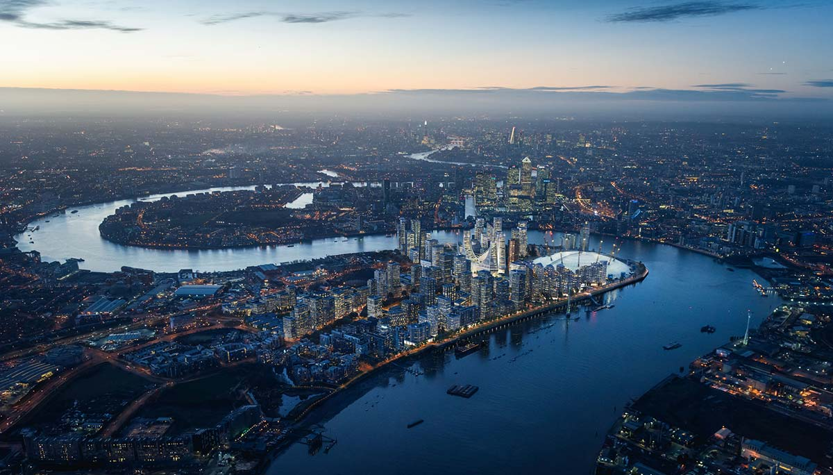 Greenwich Peninsula, London