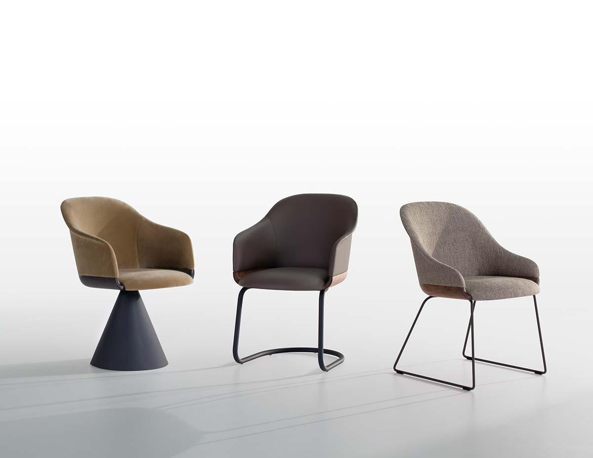 Lyz Chair by Mario Ferrarini