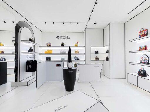 Store Braccialini a Roma, in via Frattina