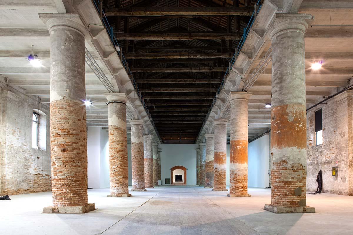 Corderie, Photo by © Giulio Squillacciotti, Courtesy of La Biennale di Venezia