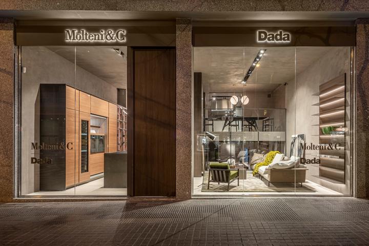 Flagship store Molteni&C|Dada, Barcellona