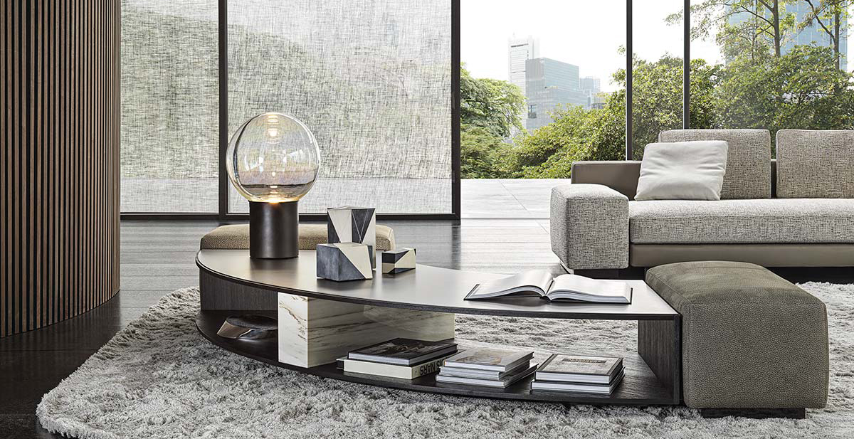 Amber by Minotti - Design Christophe Delcourt