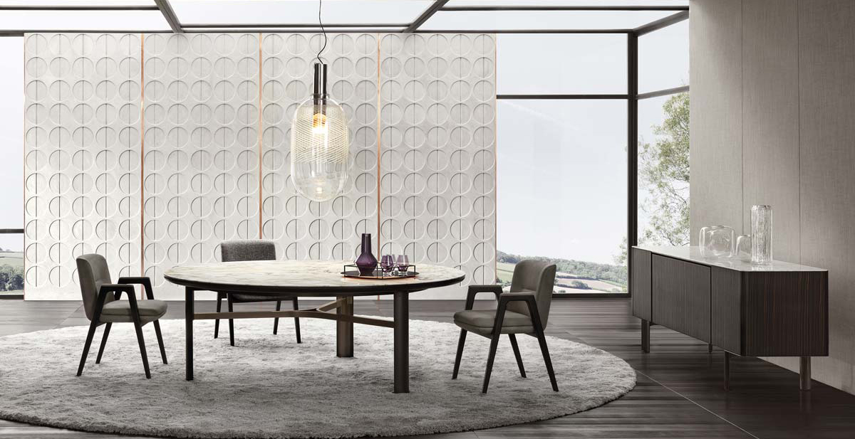 Dan by Minotti - Design Christophe Delcourt