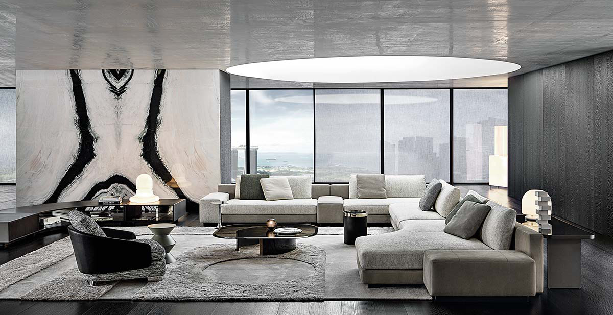 Daniels by Minotti - Design Christophe Delcourt