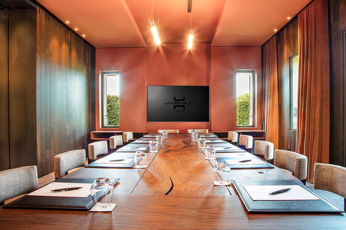 Jiva Hill Resort, Ginevra - Meeting room - Photo © Lenaka