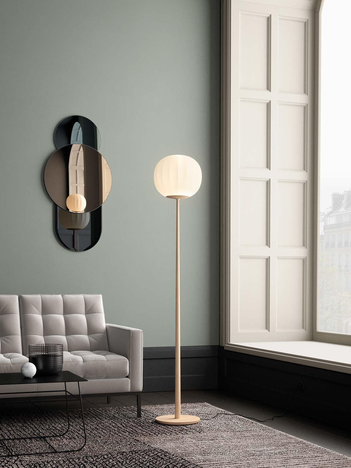 Lampada da terra Lita by Luceplan - Design David Dolcini