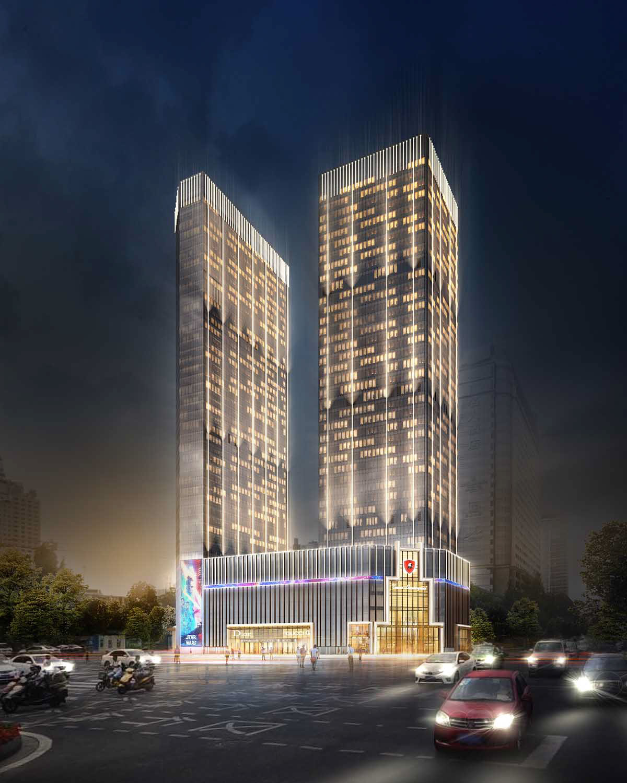 Tonino Lamborghini Towers, Chengdu - Design Studio Marco Piva