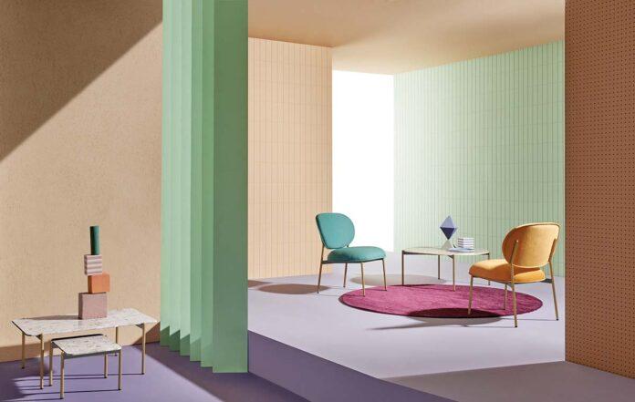 Blume by Pedrali, Design Sebastian Herkner
