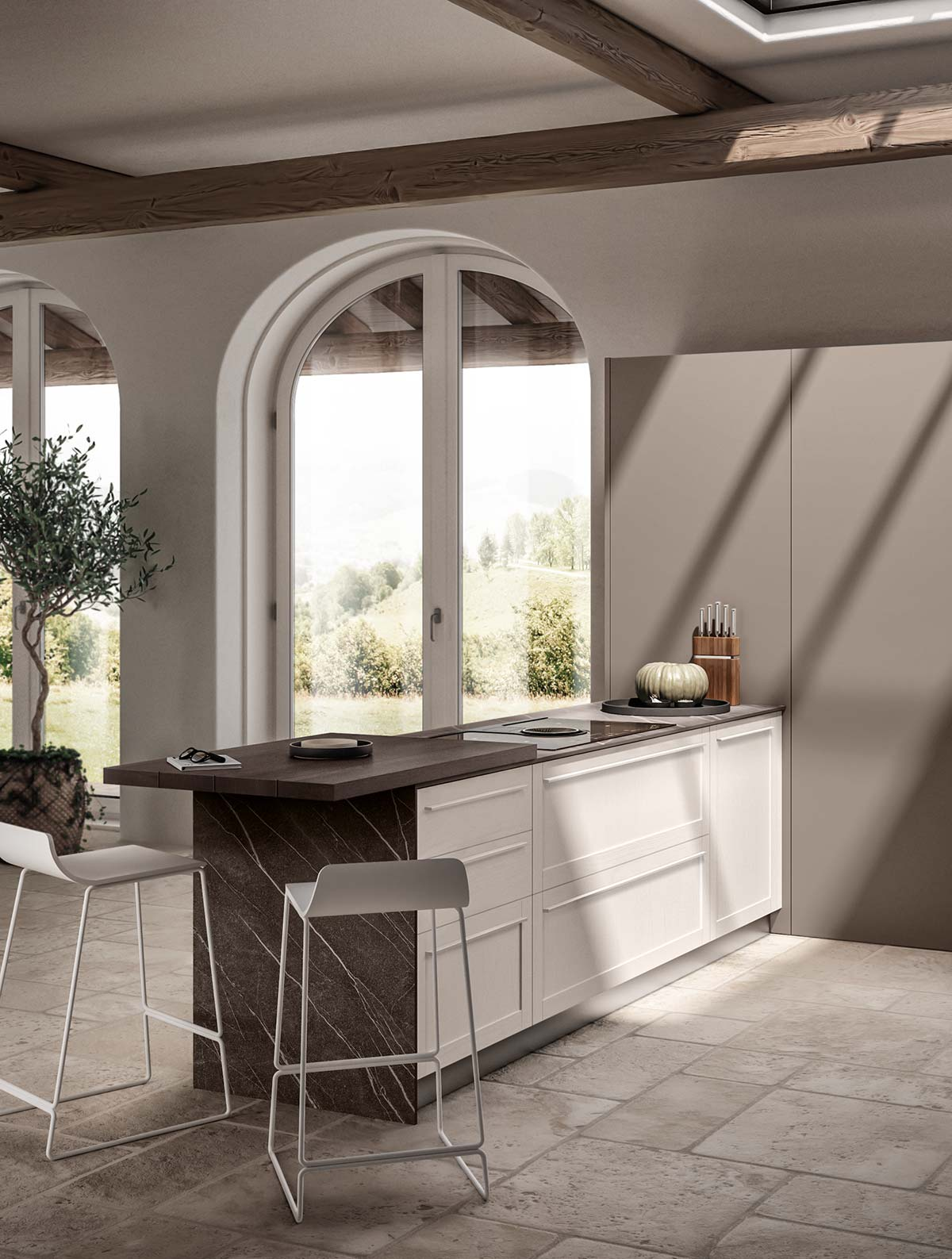 Carattere restyling by Scavolini