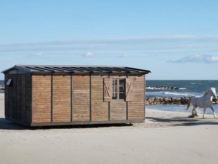6x6 Demountable House by Jean Prouve @ Galerie Patrick Seguin