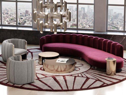 Elie Saab Maison, living room