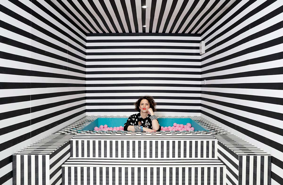 HOUSE-OF-DOTS-installation,-by-Camille-Walala-for-LEGO