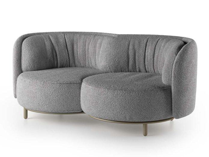 Natuzzi Italia, Deep collection by Nika Zupanc, Wave sofa