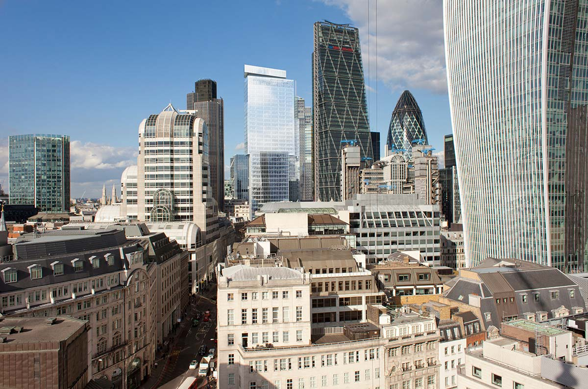 One Bishopsgate Plaza, architects PLP Architecture, Yabu Pushelberg and MSMR