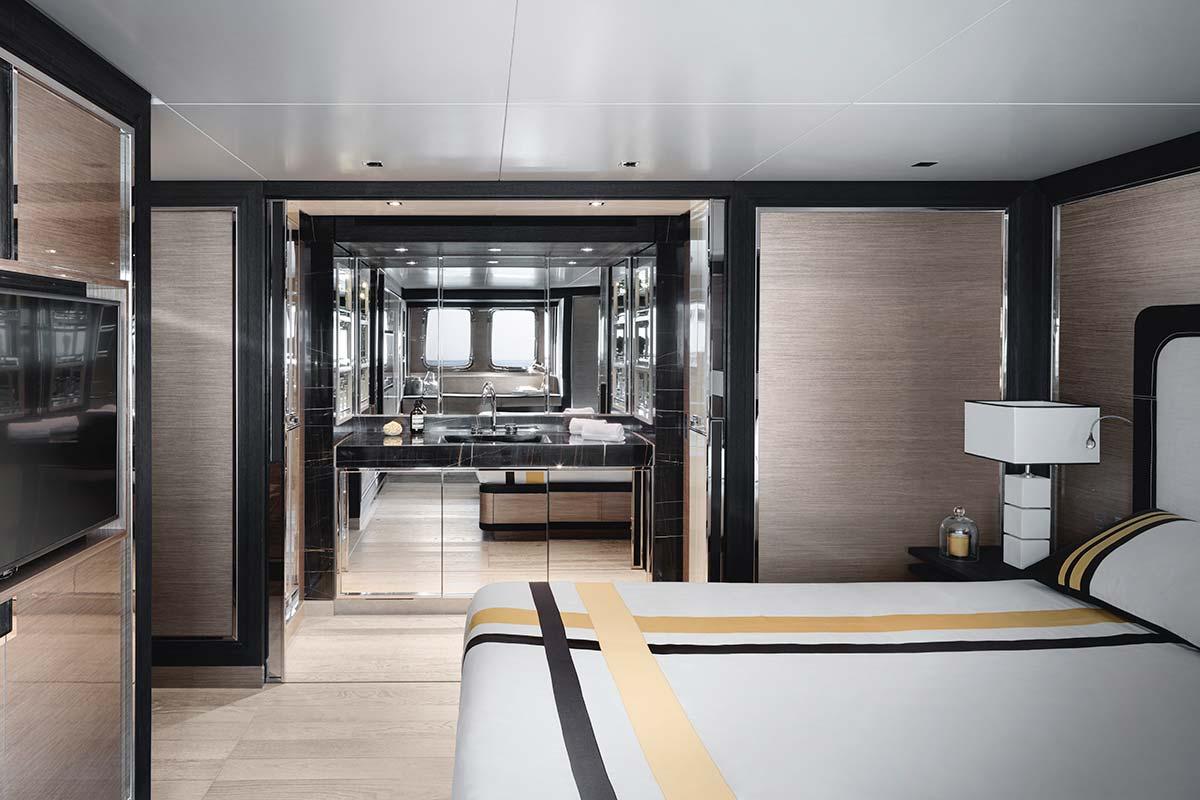 SL96Asymmetric by Sanlorenzo, VIP Cabin