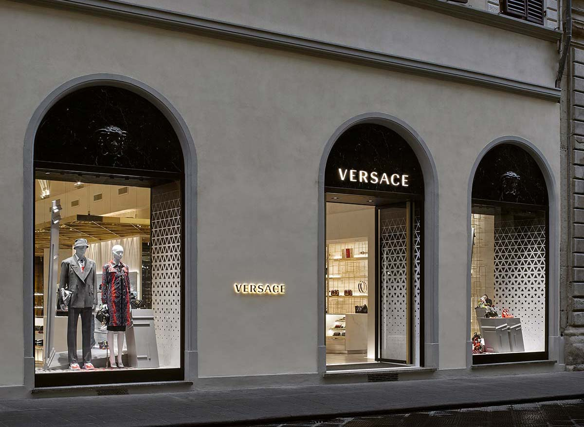 Versace, Florence, Italy