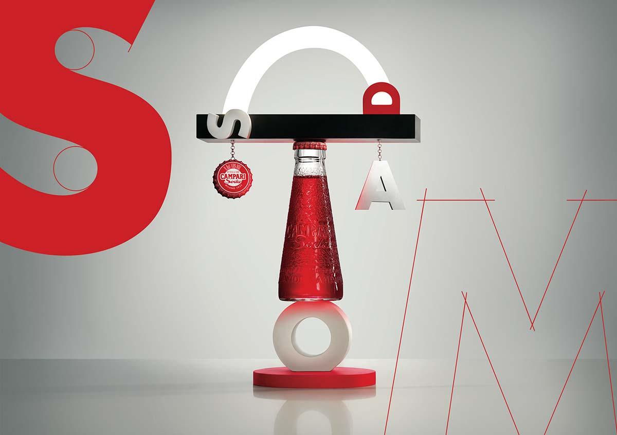 Campari Soda, #DesignConnection, #SenzaMaschere