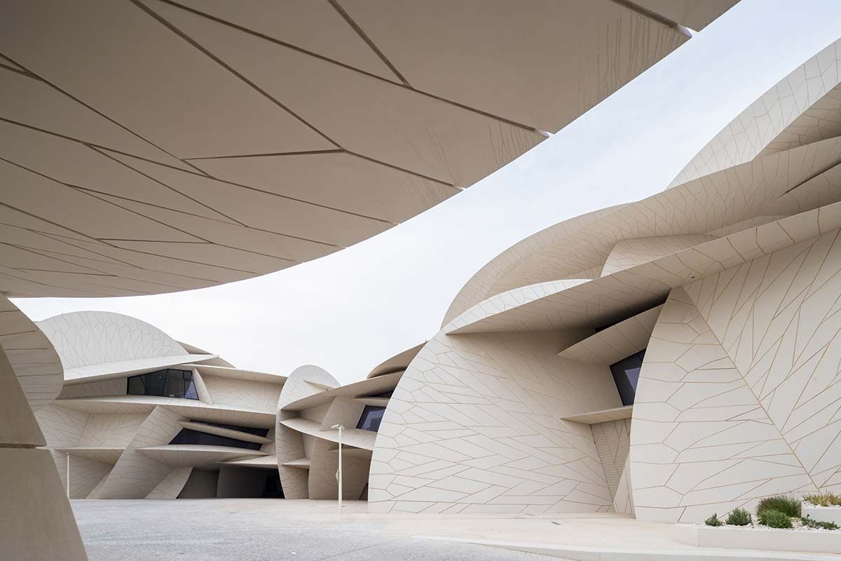 National Museum of Qatar - Design Ateliers Jean Nouvel - Photo © Iwan Baan