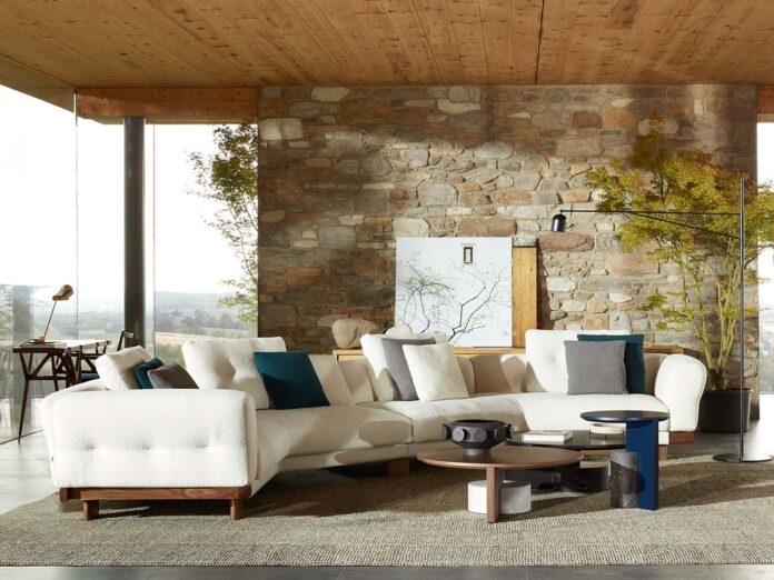 Cassina, Sengu Sofa by Patricia Urquiola. Ph © DePasquale+Maffini