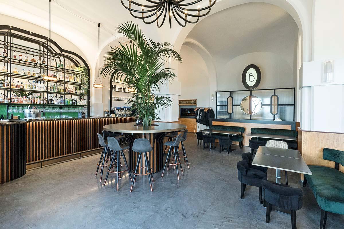 La Biglietteria restaurant and bar. Ph © Priscilla Tangari