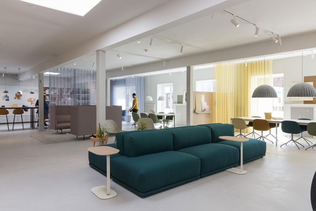 Muuto showroom, Copenhagen