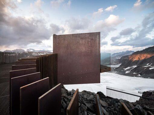 Ötzi Peak 3251m, Val Senals, Italy - Photo © Alex Filz