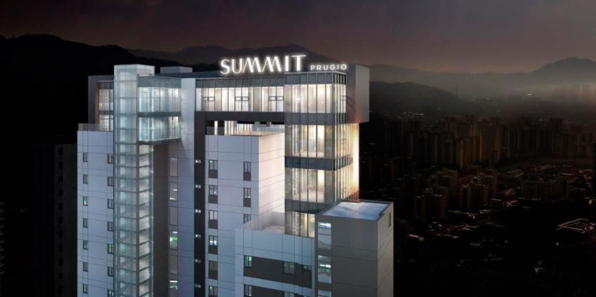 Progetto Daewoo Gwacheon Prugio Summit, Korea
