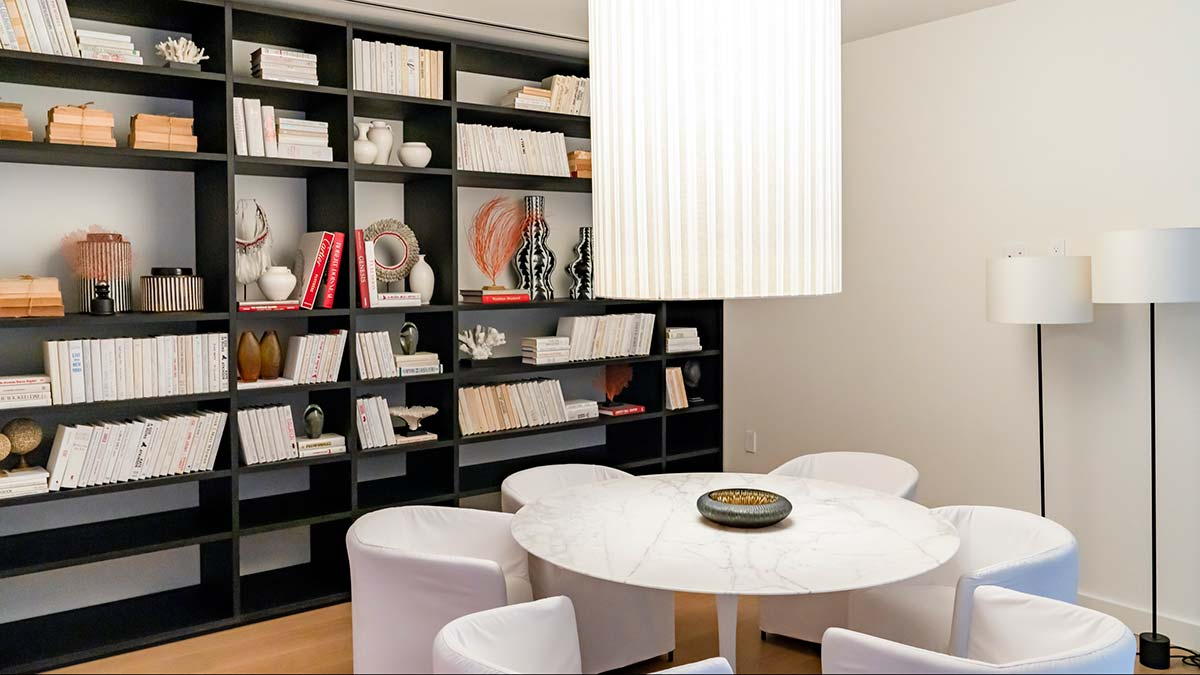 Ritz-Carlton Residences Miami Beach, Game Room, Library