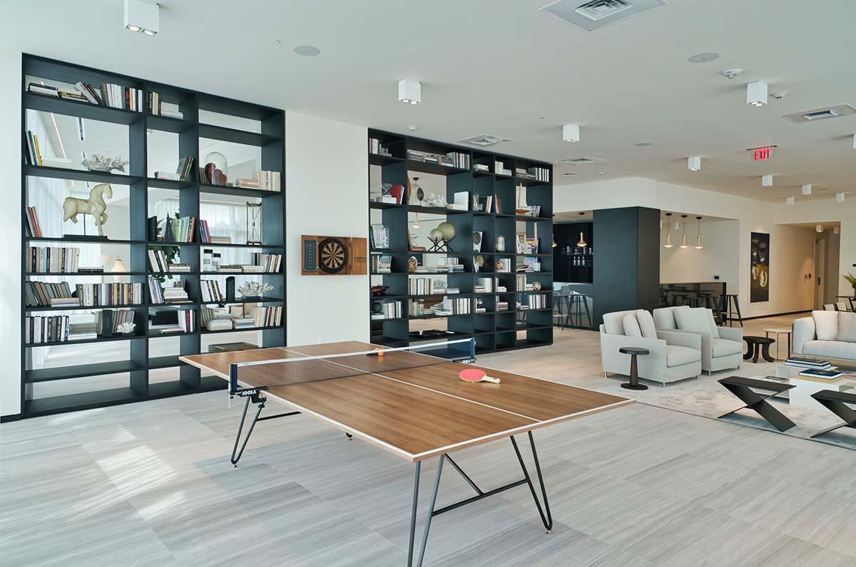 Ritz-Carlton Residences Miami Beach, Game Room