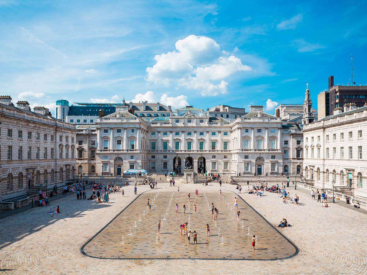 The Edmond J. Safra Fountain Court, Somerset House © Kevin Meredith