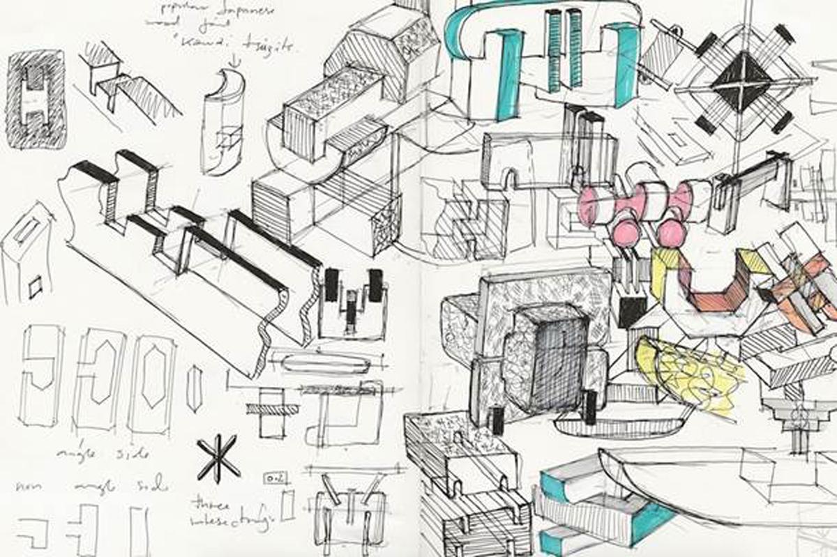 WonderGlass, Sketch by Bethan Laura Wood