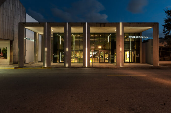 Ingresso del nuovo flagship store Boffi|DePadova a Miami