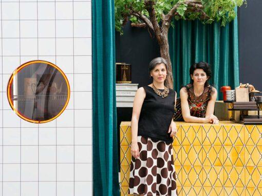 Emilia Petruccelli & Domitilla Dardi, Edit Napoli - Photo © Lea Anouchinsky