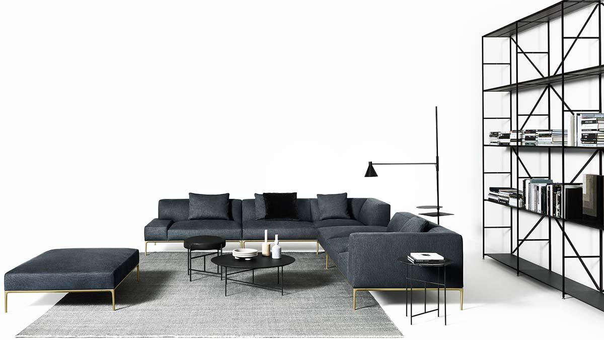 Horizontal Sofa by Time & Style & De Padova - Photo © Tommaso Sartori