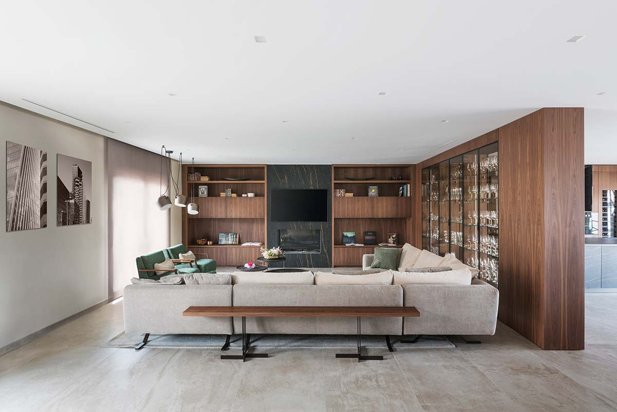 Private residence by TM Italia - Naples, Italy - Photo © Matteo Rossi