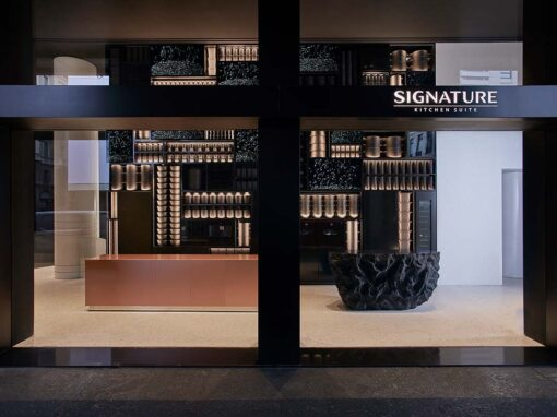 Signature Kitchen Suite, Showroom, Milan